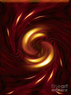 Arrogance - Abstract Art By Giada Rossi Art Print