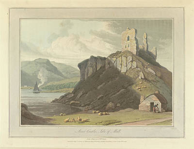 Arros Castle On The Isle Of Mull Art Print
