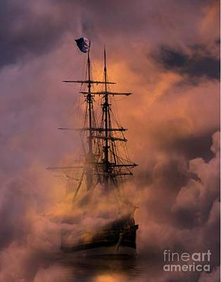 Pirate Ship Photograph - Arrr by Stephanie Laird