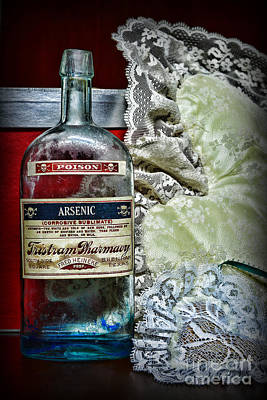 Pharmacist Photograph - Arsenic And Old Lace by Paul Ward