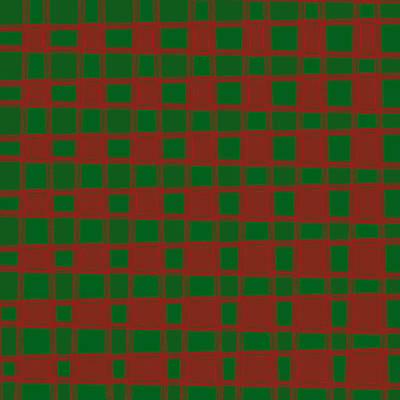 Art 1905 Elegant Graphic Pattern Squares Colorful Digitalart Graphicart Surface Texture Design Multi Art Print