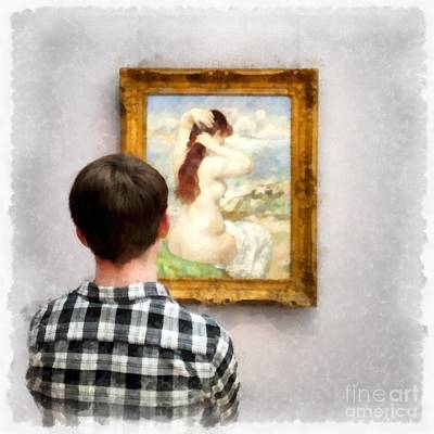 Art Appreciation Art Print by Edward Fielding