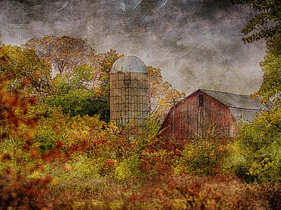 Photograph - Art Barn by Dennis James