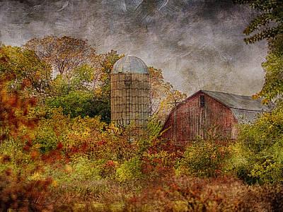 Photograph - Art Barn by Dennis James
