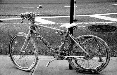 Art Bike Art Print by Laura Jimenez