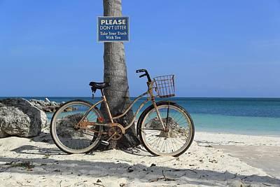 Photograph - Art Bike by R B Harper