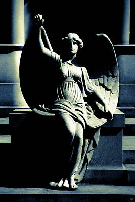 Photograph - Art Deco Angel by Chris Lord