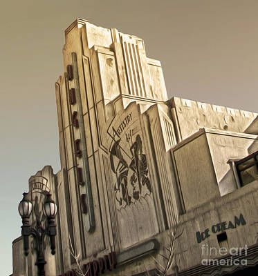 Painting - Art Deco Building by Gregory Dyer