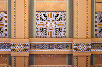 Brown Tones Photograph - Art Deco Ceiling Decoration by Nikolyn McDonald