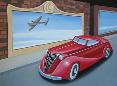Art Deco Coupe Art Print by Stuart Swartz