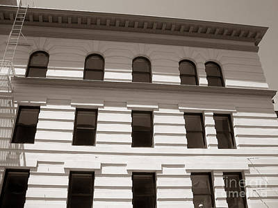 Photograph - Out Of Line - Art Deco In San Francisco by Connie Fox