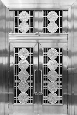Photograph - Art Deco Door 2 by Andrew Fare