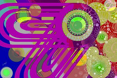 Digital Art - Art Deco Explosion 7 by Paulette B Wright
