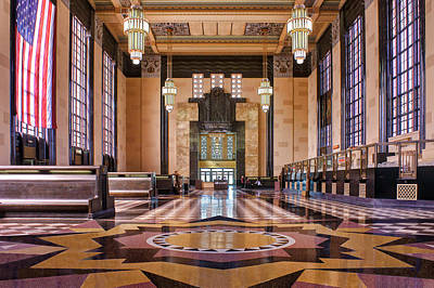 Art Deco Great Hall #2 Art Print