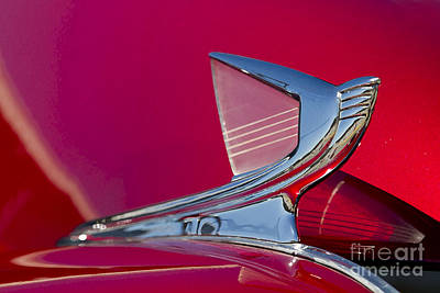 Photograph - Art Deco Hood Ornament by Dennis Hedberg