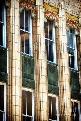 Galleries On Line Photograph - Art Deco On King Street by John Rizzuto