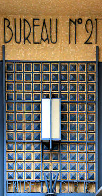 Photograph - Art Deco Post Office by Andrew Fare