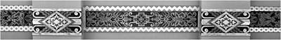 Photograph - Art Deco Trim #1 - Bw by Nikolyn McDonald