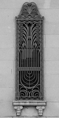 Photograph - Art Deco Window 2 by Andrew Fare