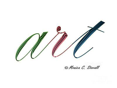 Digital Art - art Design No. GPD3 by Monica C Stovall