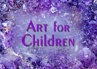 Mixed Media - Art For Children by Donna Proctor
