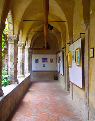 Art Gallery In A Monastery Art Print