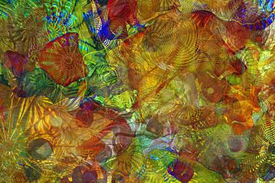Art Glass Overlay Art Print