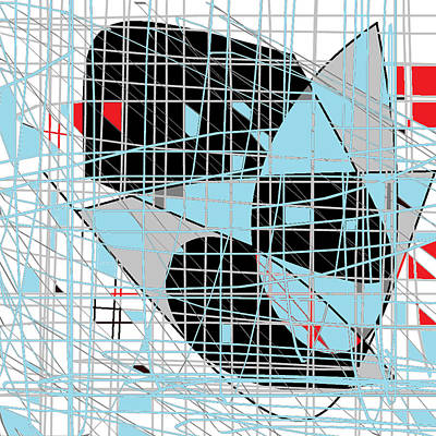 Digital Art - Art Grid by Shesh Tantry