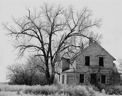 Andrew Wyeth Photograph - Art Homage Andrew Wyeth Abandoned 1930's Farm House Near Aberdeen South Dakota 1965-2012 by David Lee Guss