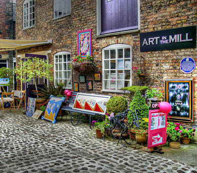 Art In The Mill Print by Doc Braham