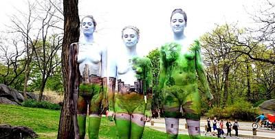 Natalie Fletcher Photograph - Art In The Park by Natalie Fletcher