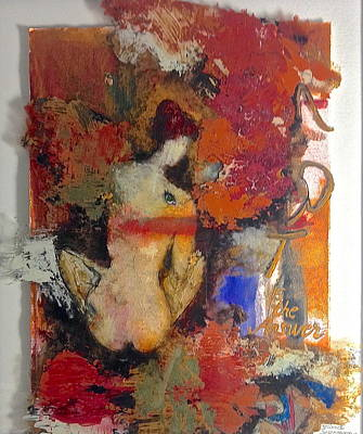 Mixed Media - Art Is The Answer by Delona Seserman