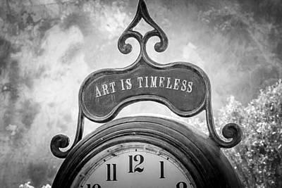 Art Is Timeless Art Print