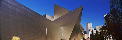 Indian Art Photograph - Art Museum In A City, Denver Art by Panoramic Images