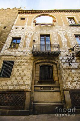 Photograph - Art Nouveau Facade by Deborah Smolinske