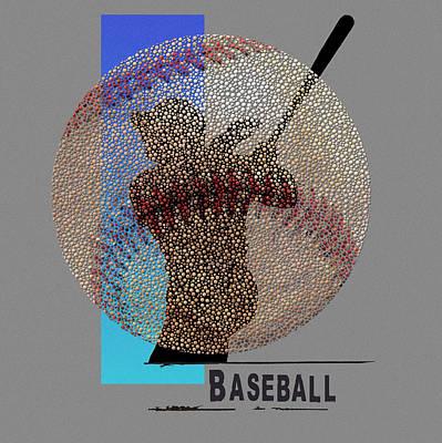 Baseball Painting - Art Of Baseball by Jim Baldwin