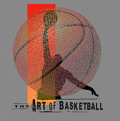 Basketball Painting - Art Of Bball by Jim Baldwin