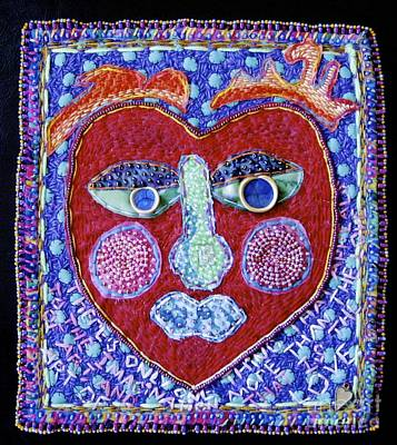 Tapestry - Textile - Art Of Love by Susan Sorrell