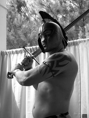 Pecs Digital Art - Art Of Muscle War Shades by Jake Hartz