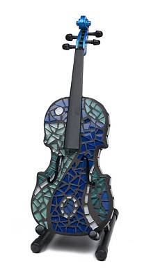 Ceramic Art - Art Of Music #3 by Reginald Charles Adams