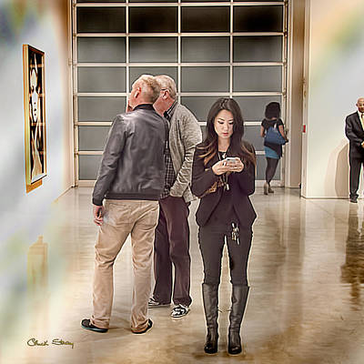 Photograph - Art Of Texting by Chuck Staley