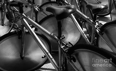 Bicycle Racing Photograph - Art Of The Bicycle by Bob Christopher