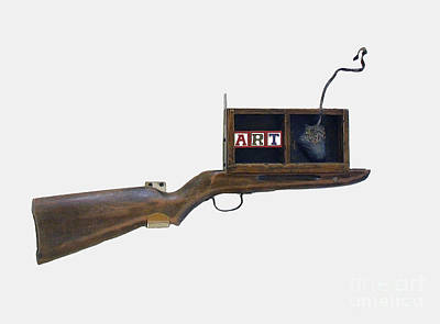 Photograph - Art Rifle by Bill Thomson