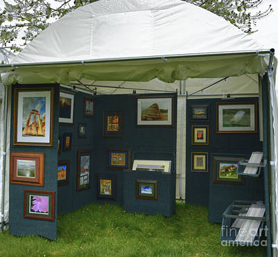 Photograph - Art Show Booth by Deborah Smolinske