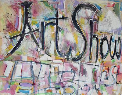 Art Show Art Print by Hari Thomas