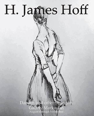 Ballet Dancers Digital Art - Art Show Poster by H James Hoff