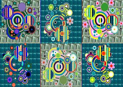 Art Spectrum Multicolor Crystal Stone Base Navinjoshi  Download Rights Managed Images Graphic Design Art Print