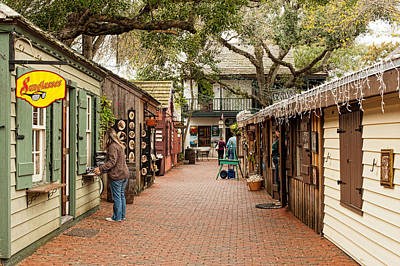 Photograph - Art Walk In Old Towne by Keith Swango