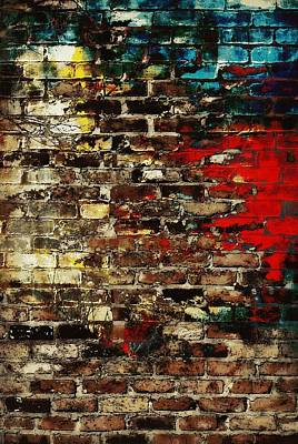 Cabin Wall Digital Art - Art Wall by Chastity Hoff