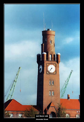 Painting - Art Work 148 Tower Of Cuxhaven by Alexander Drum